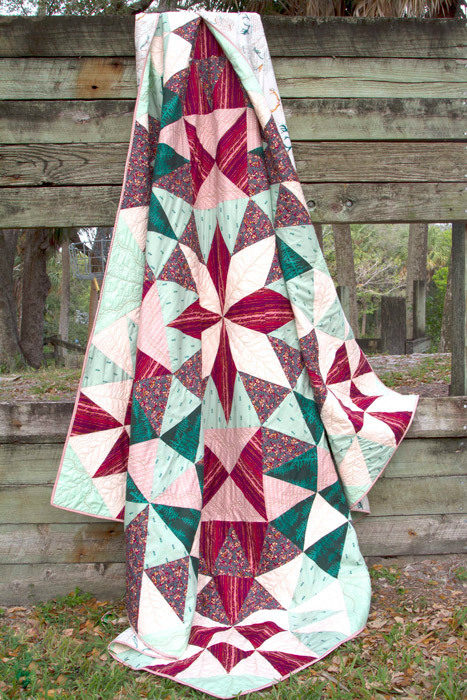 Foresta Quilt2 5 free eternal quilt pattern from AGF