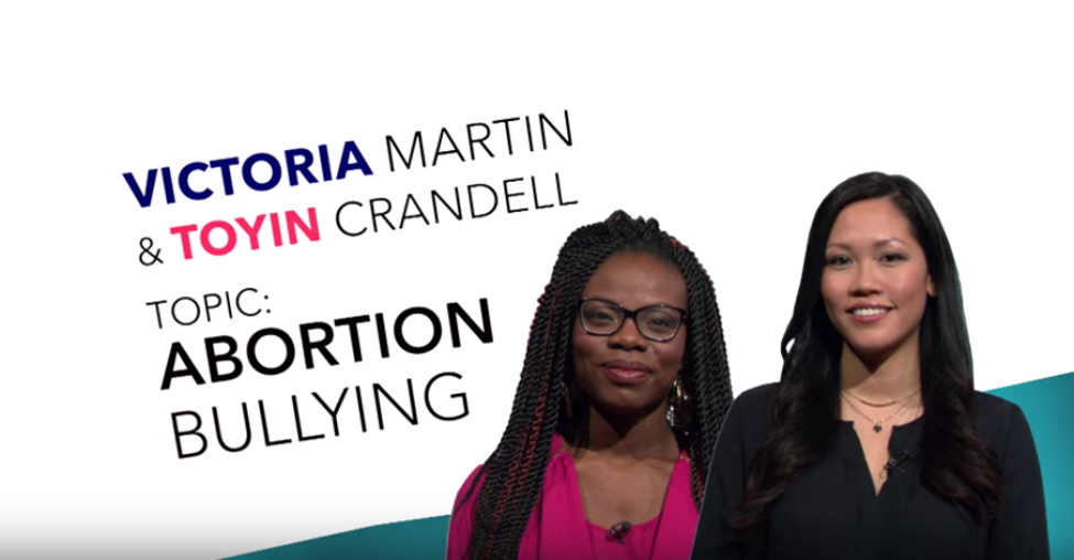Abortion Bullying with Victoria and Toyin