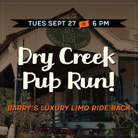 dry creek pub run