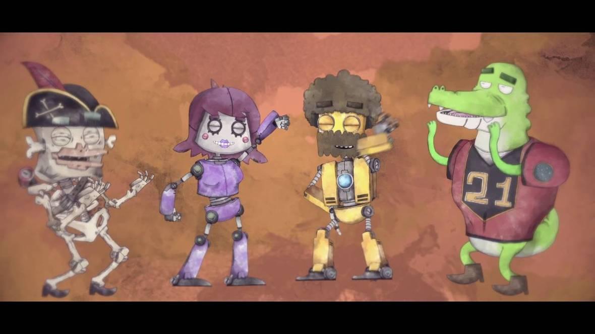 dance gavin young robot