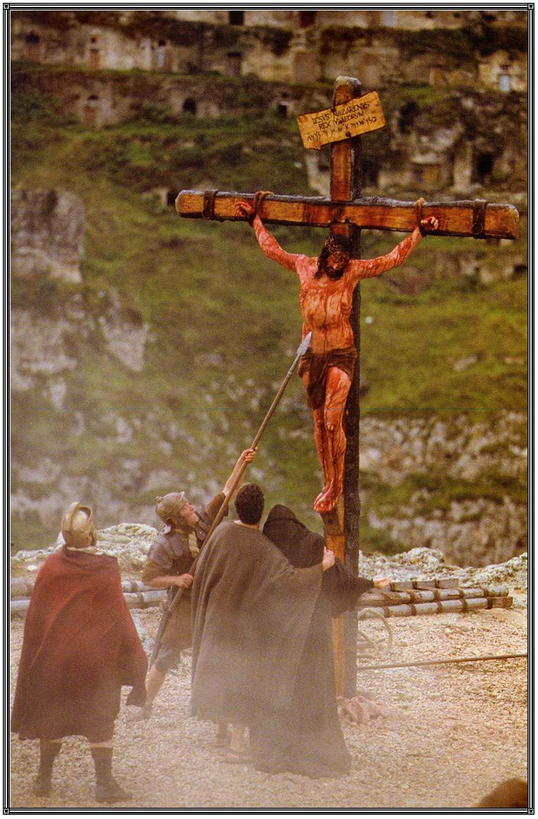 crucified pierced