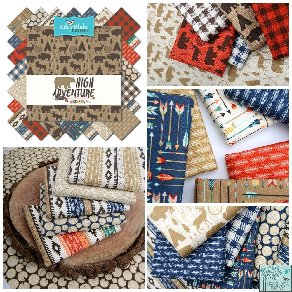 High Adventure Fabric