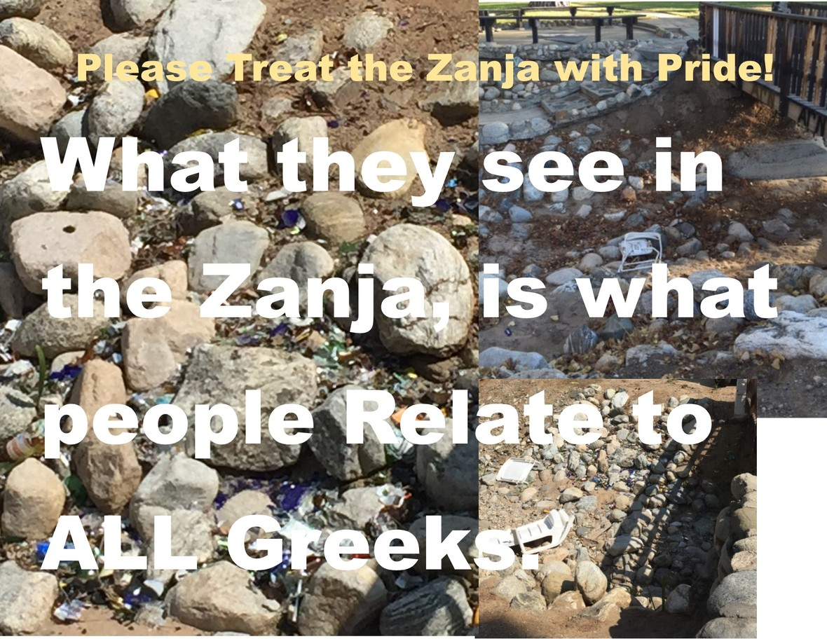 OCT 16 Treat the Zanja