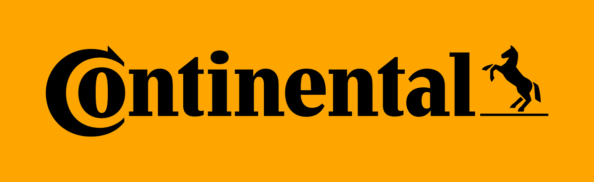 Continental Logo Black Backgr Yellow sRGB