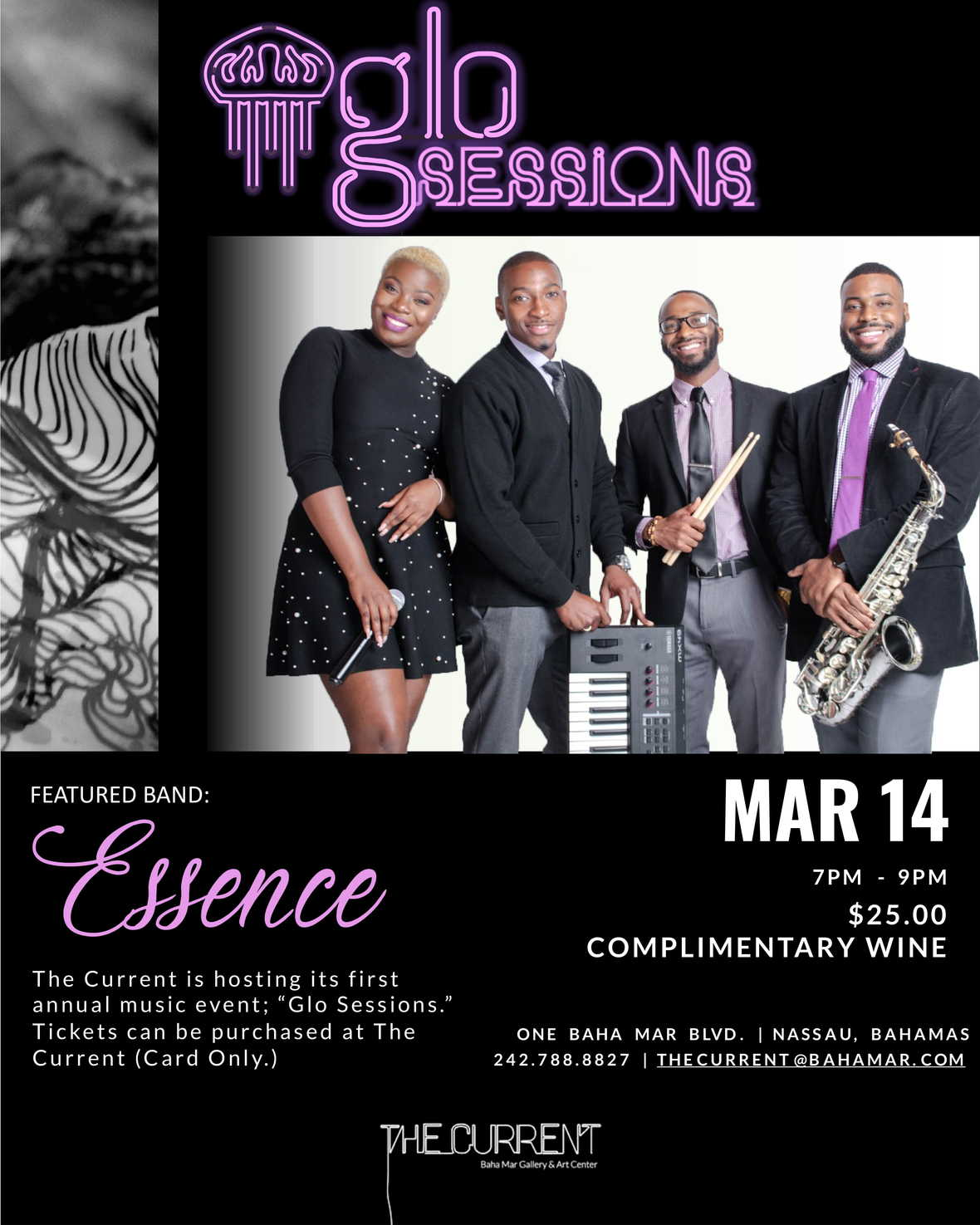 Glo Sessions 2020- Essence Band   IGMailer  01-1