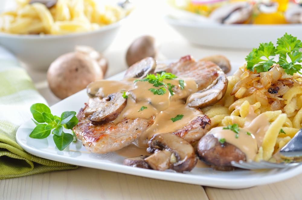 CookDC Jagerschnitzel and Spatzle
