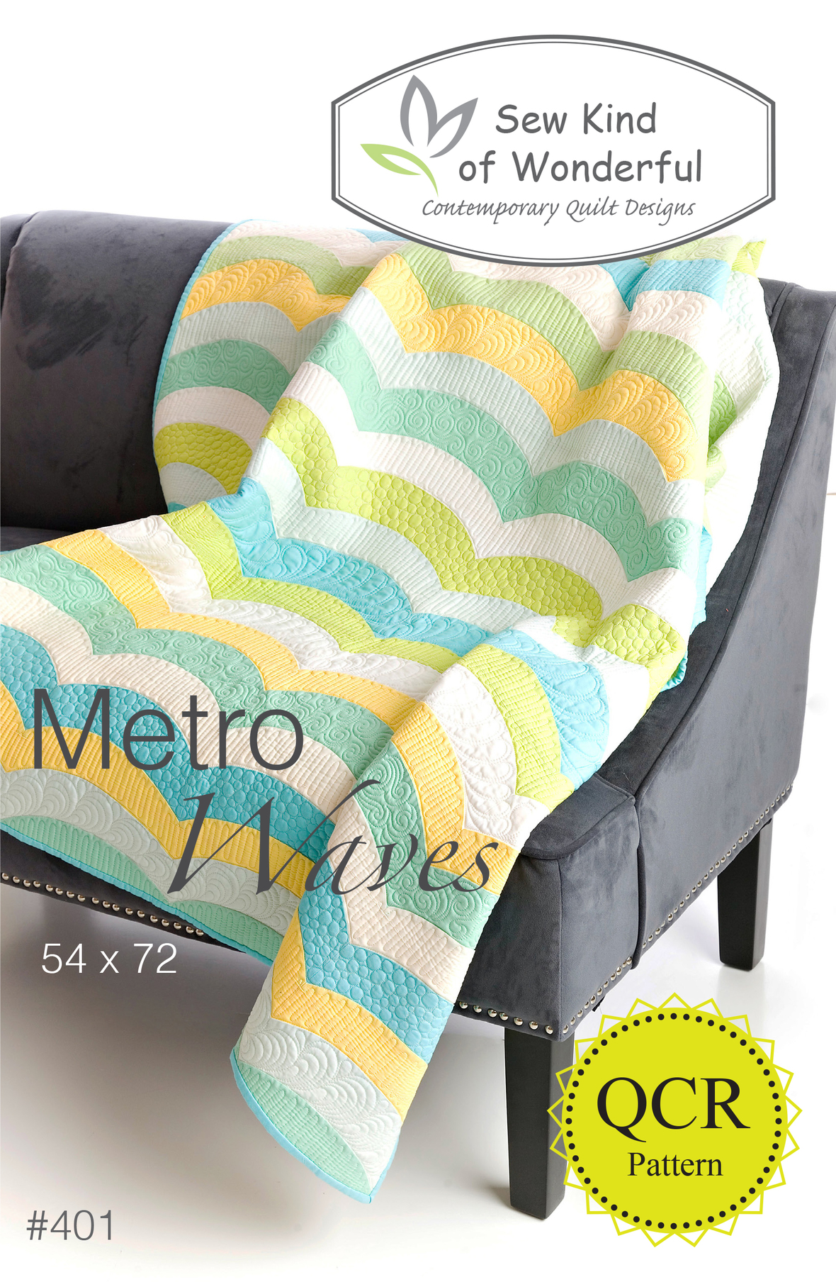 sew kind of wonderful metro waves sewing pattern