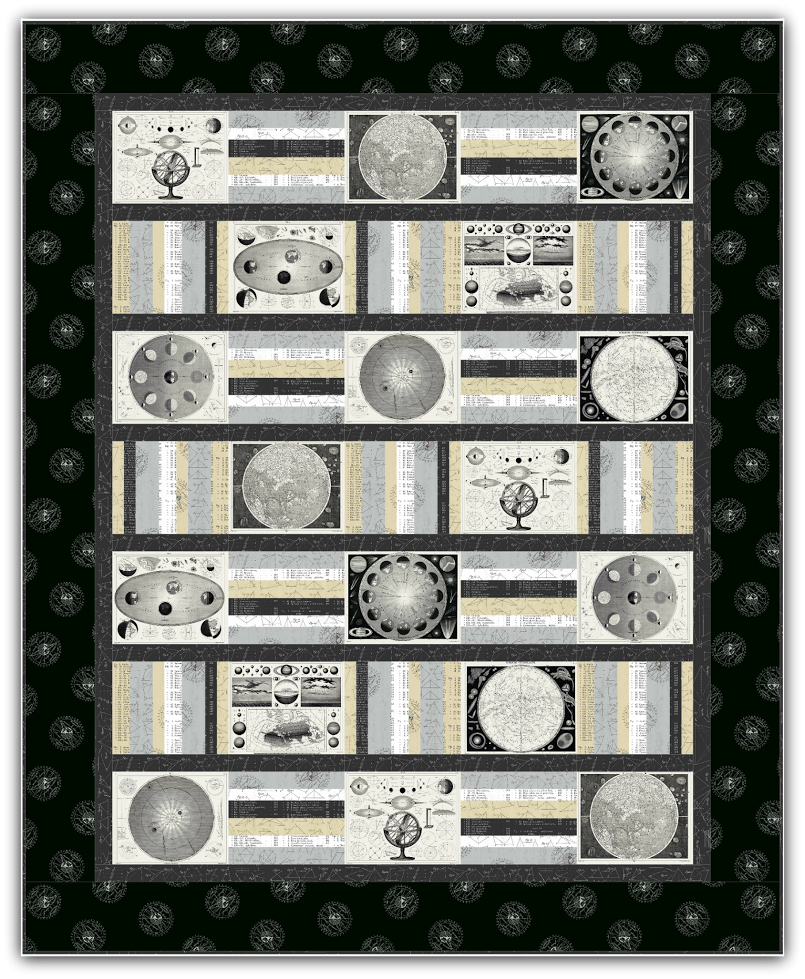 Encyclopedia Quilt for Putchase on designers site