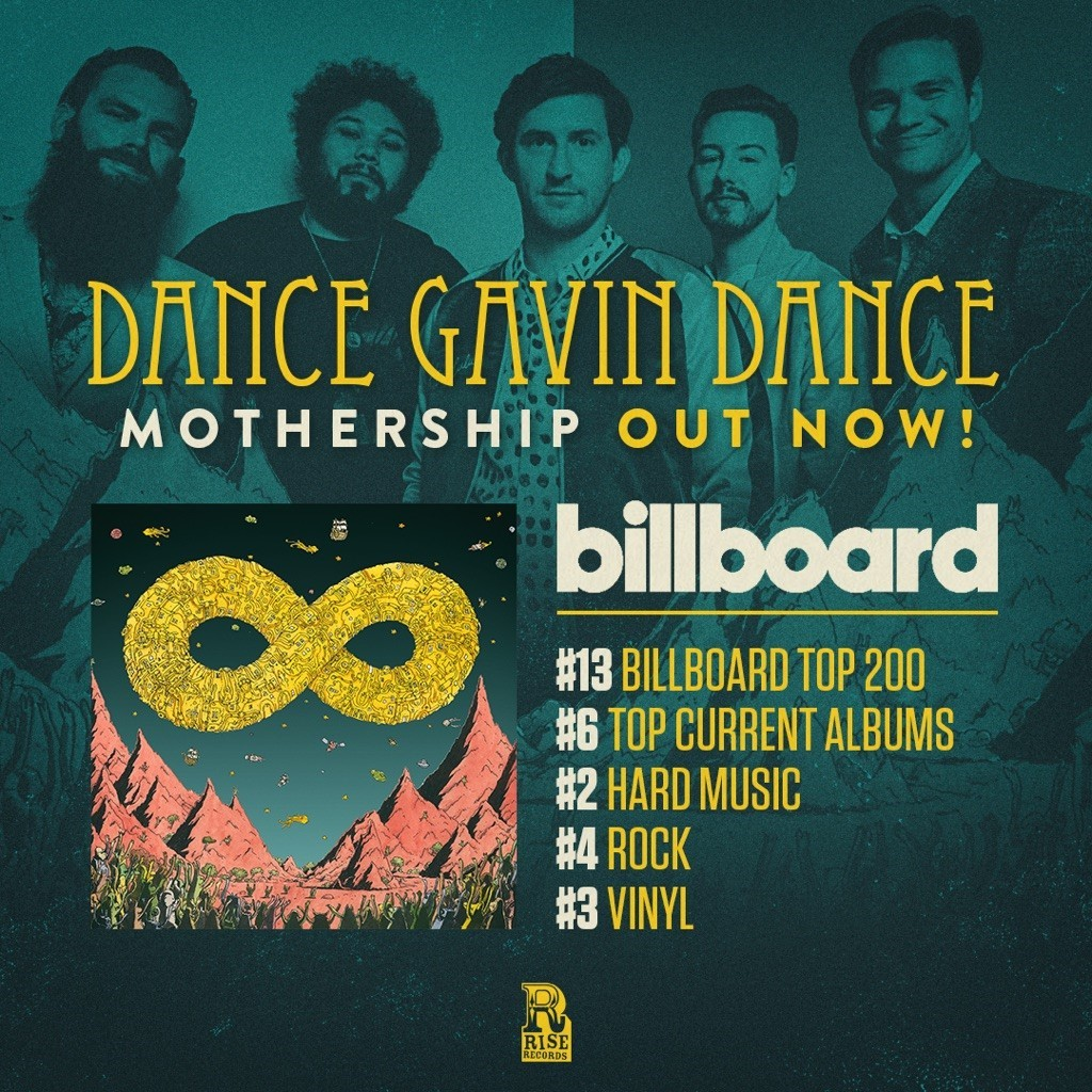dance gavin dance billboard mothership