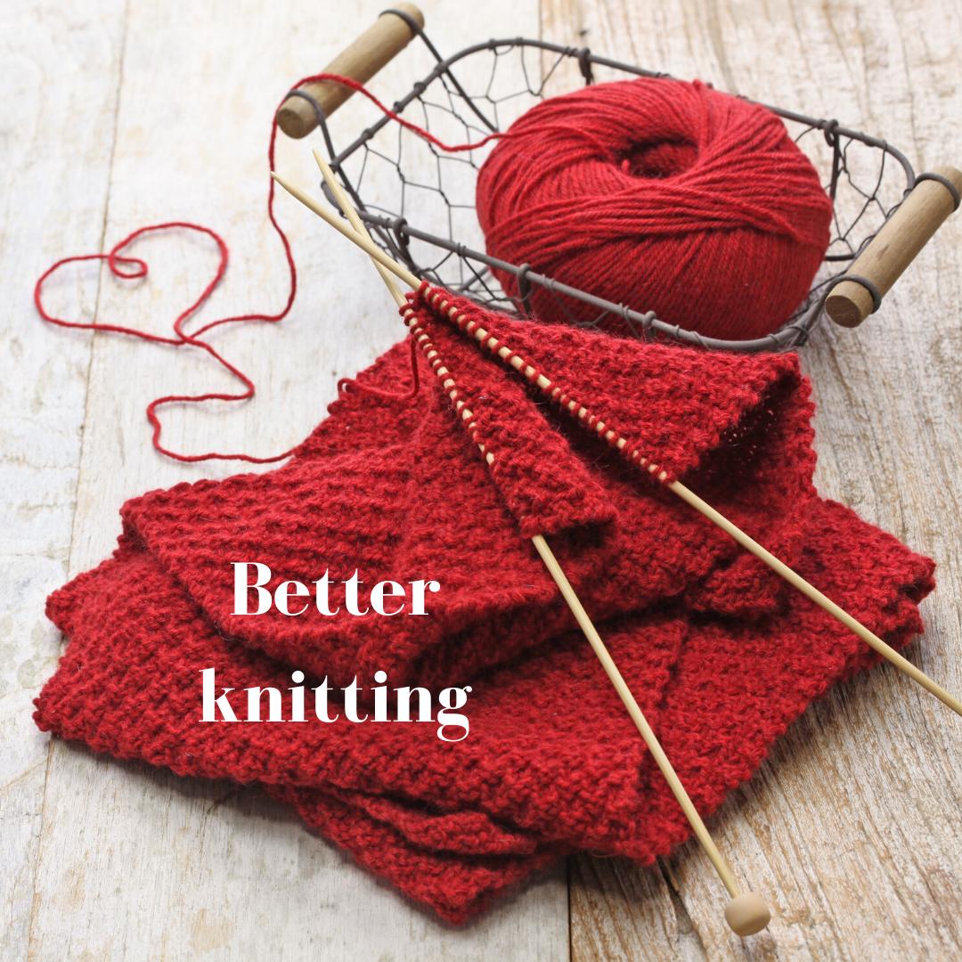 Better knitting