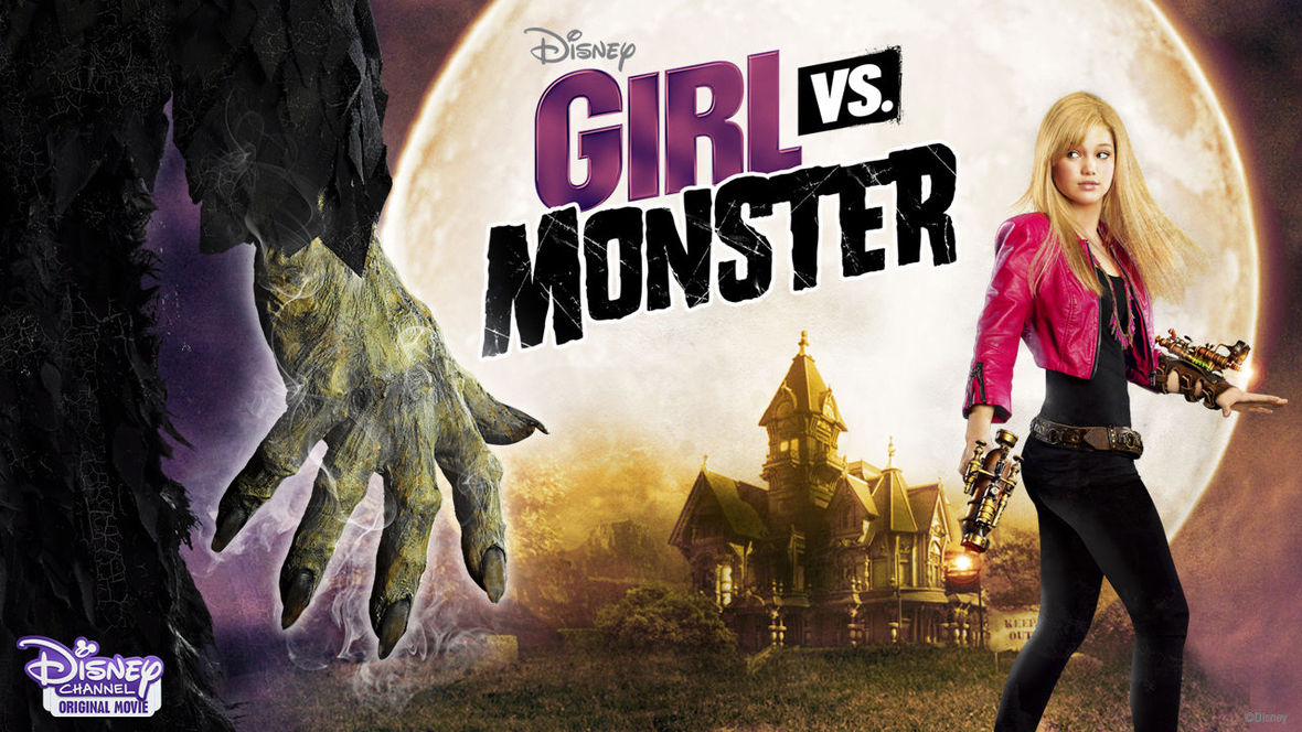 hot naked chick vs monster
