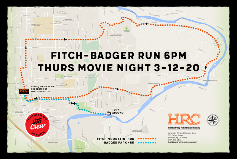 badger fitch movie map
