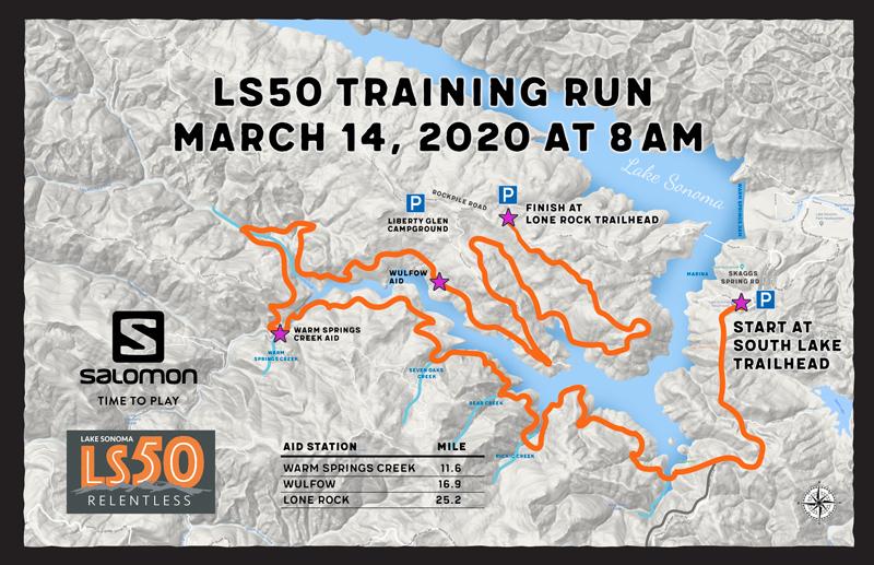 LS50 training run map 2020-2