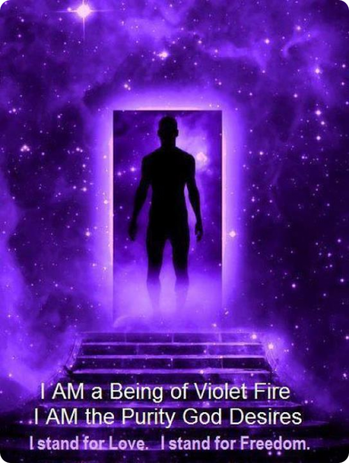 Violet Flame Meditation - Transmute And Uplift Your Energy ...