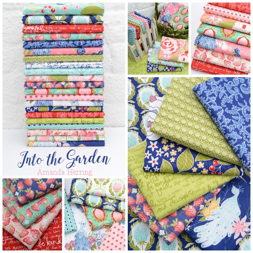 Into the Garden Fabric Poster