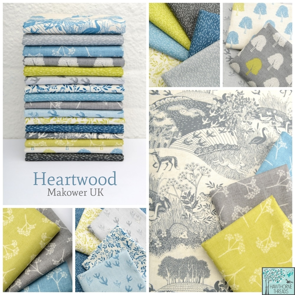 Heartwood Fabric Poster