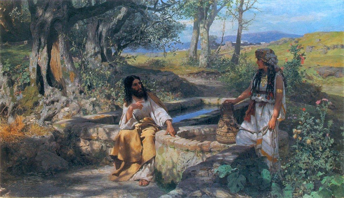 Siemiradzki-Chrystus i Samarytanka