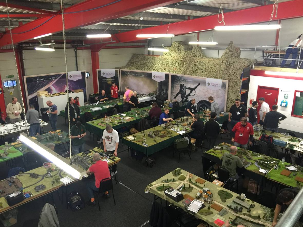 Flames of War event at Battlefield Hobbies