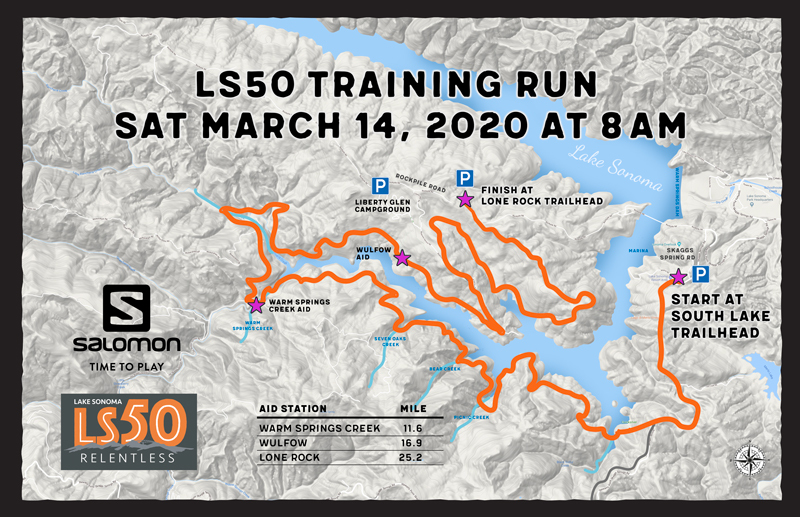LS50 training run map 2020-2