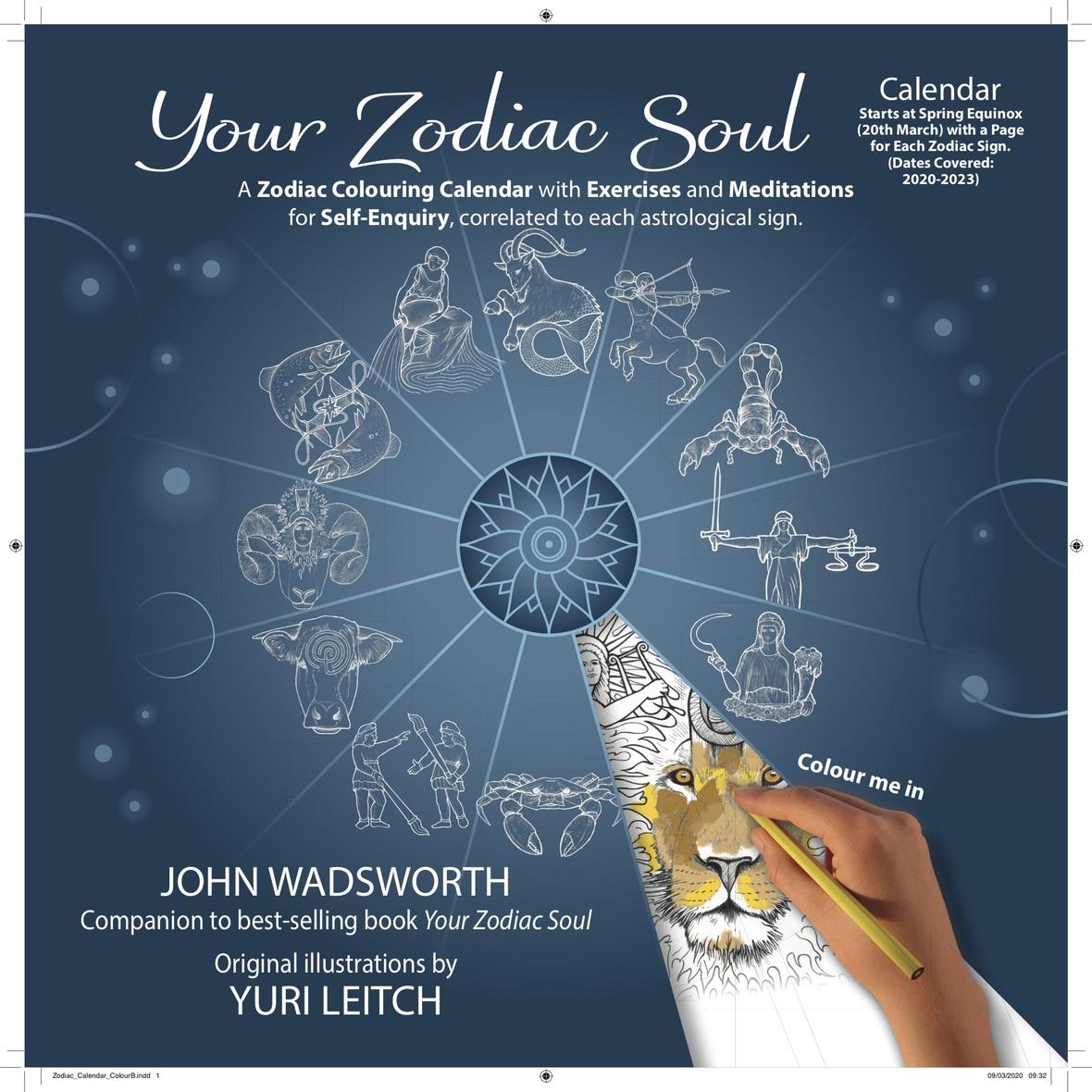 Zodiac Calendar Outer Cover