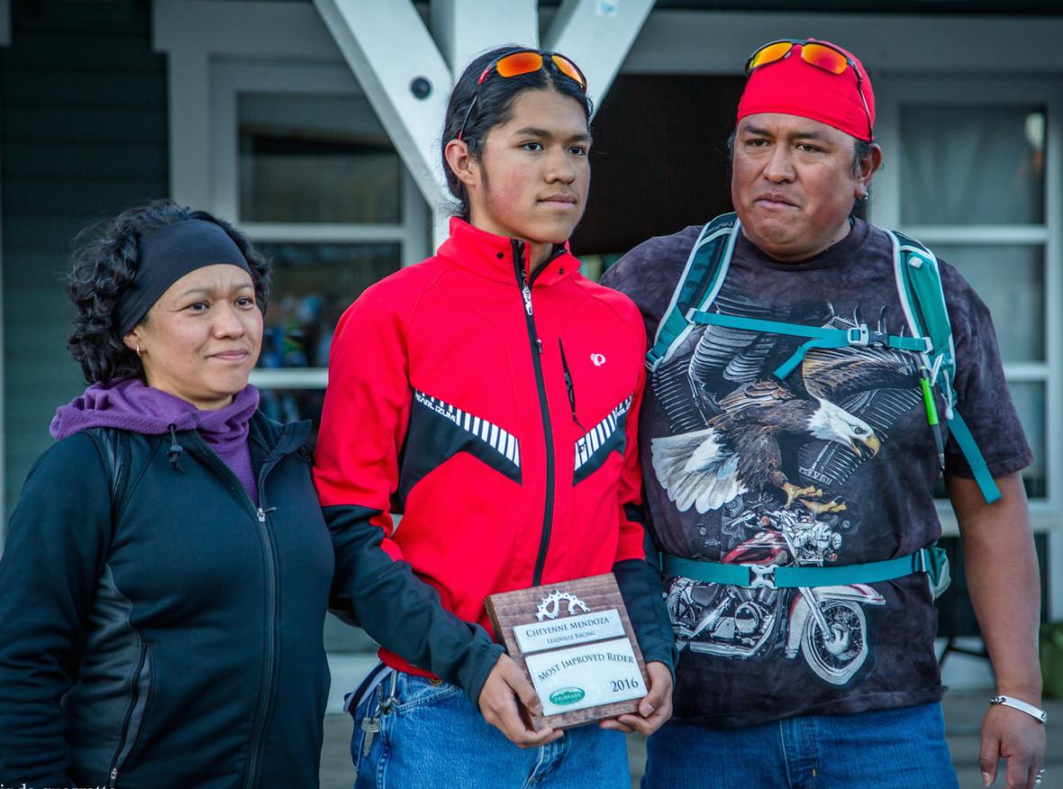 Cheyenne Mendoza Family