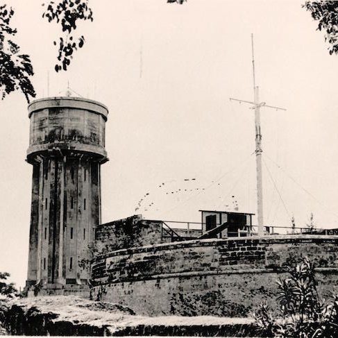 fort fincastle water tower c1960s-2