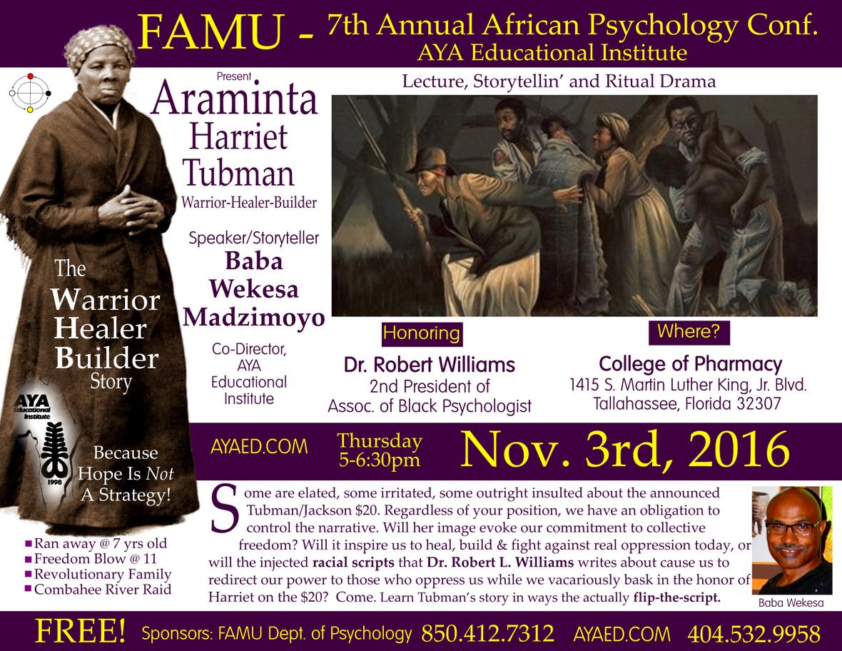 FAMU Araminta Flyer Nov 3rd 2016