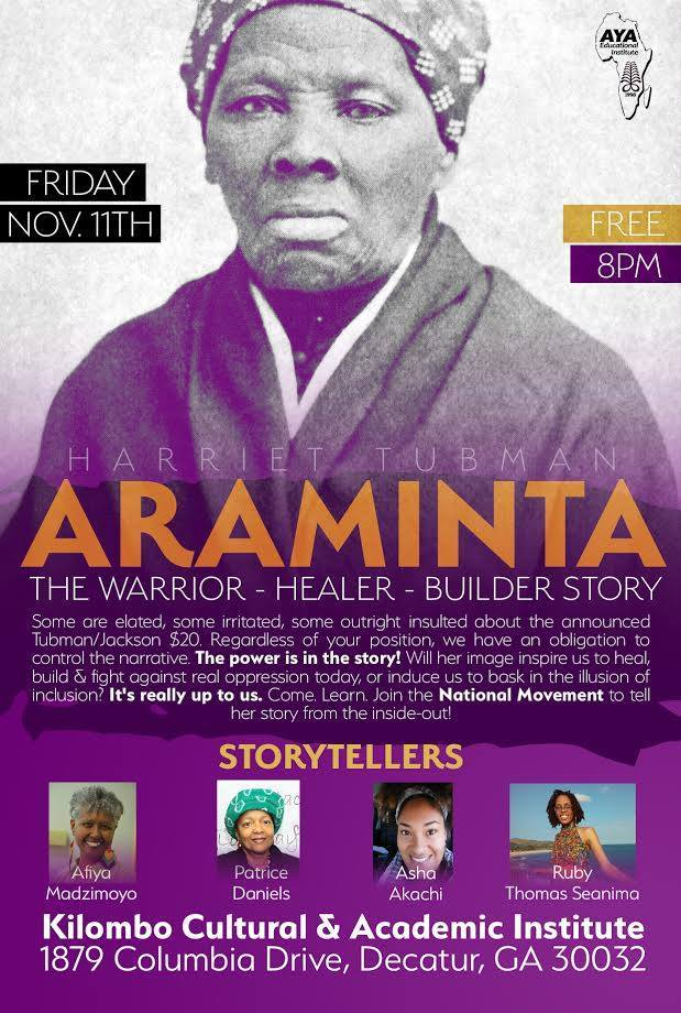 Sista on Araminta flyer