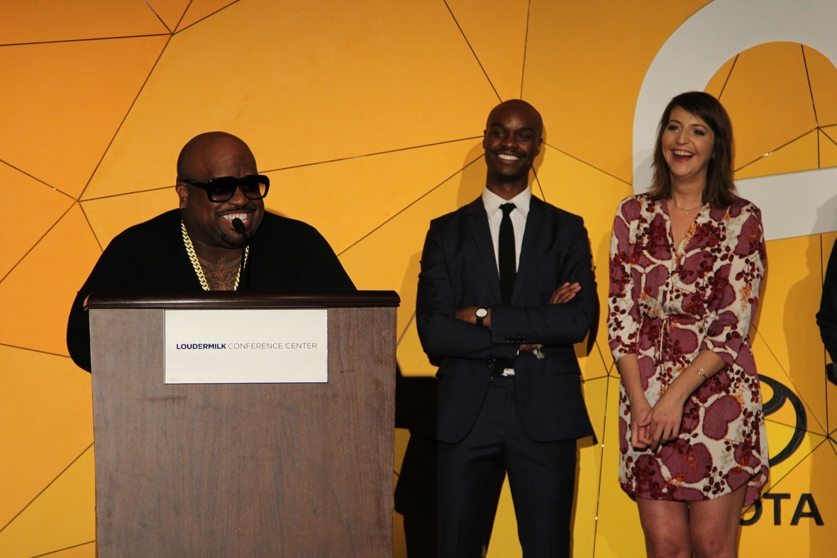 Cee-Lo Receives A3C Cultural Influencer Award At Welcome To Atlanta Dinner