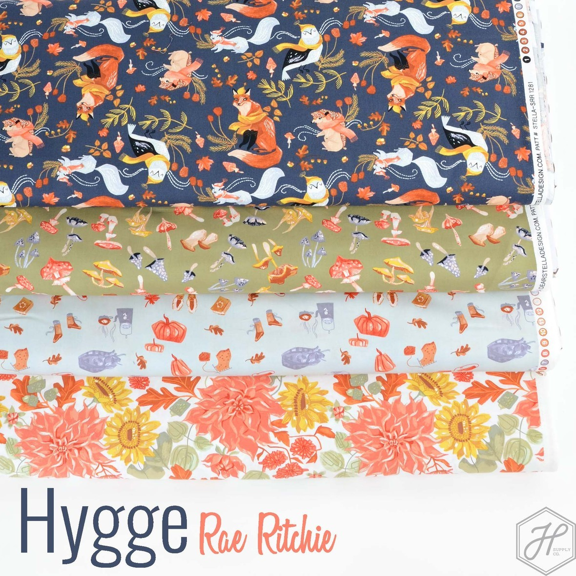 Hygge Fabric Rae Ritchie for Dear Stella at Hawthorne Supply Co