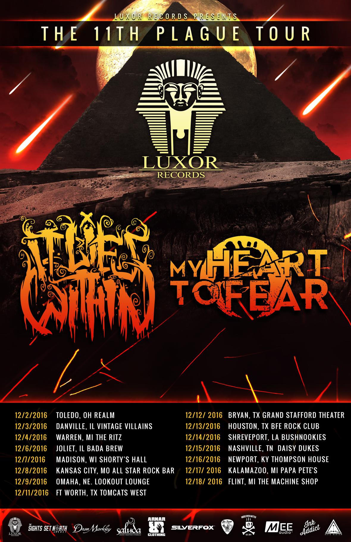 The 11th Plague Tour - Dates