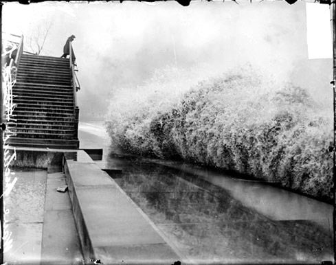 1913 Great Lakes storm wave