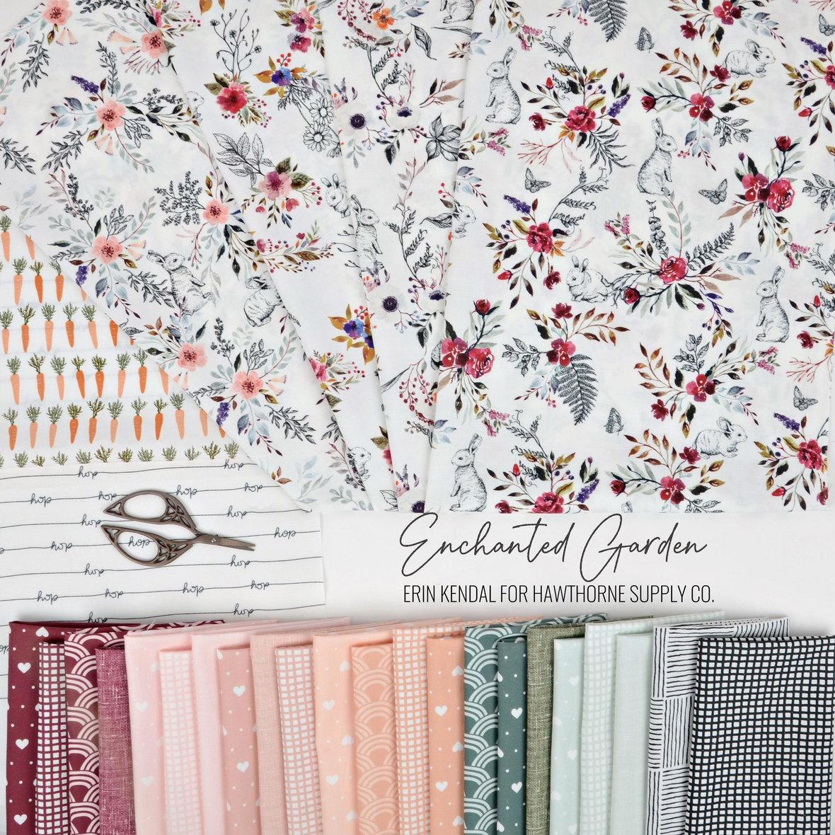 Enchanted-Garden-Fabric-Erin-Kendal-for-Hawthorne-Supply-Co