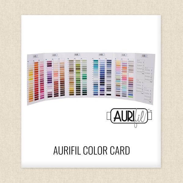 Aurifil Thread Color Card