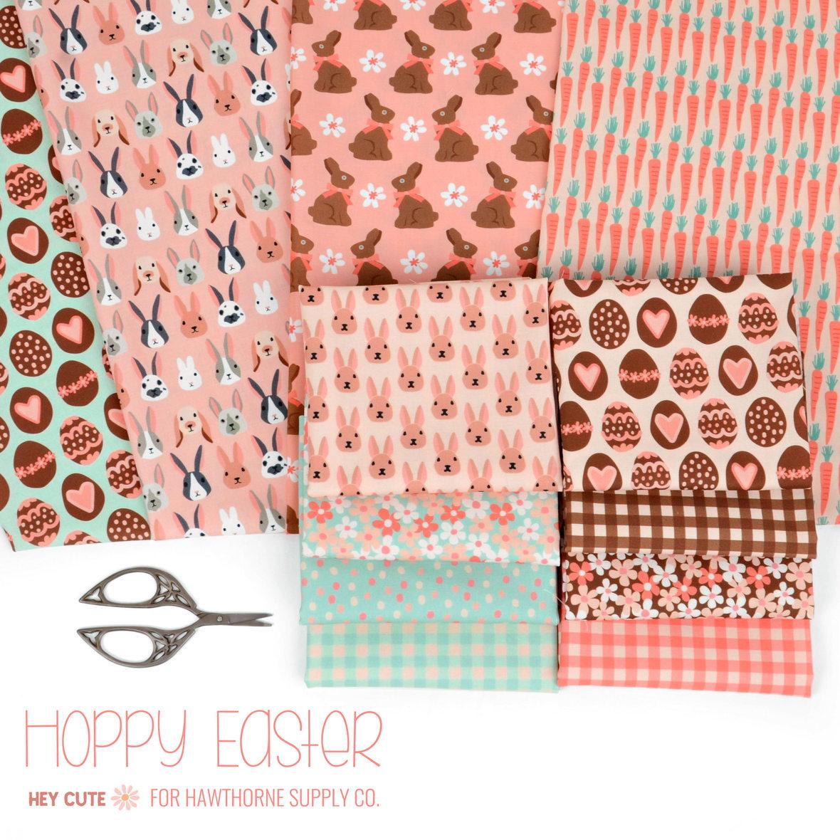 Hoppy-Easter-Bunny-Fabric-Hey-Cute-Design-for-Hawthorne-Supply-Co