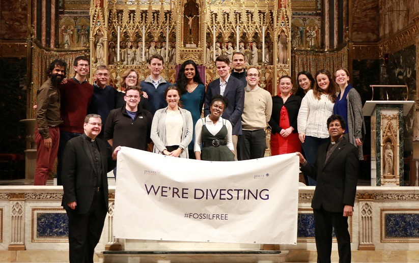 Jesuits in Britain divestment - photo credit Bokani Tshidzu 1