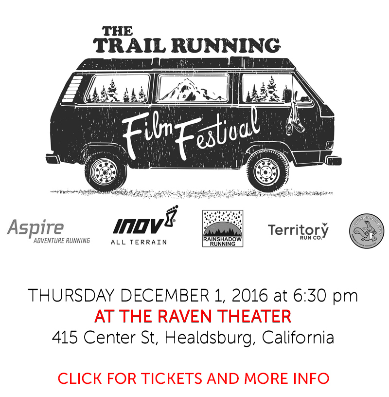 trail running van poster WHITE
