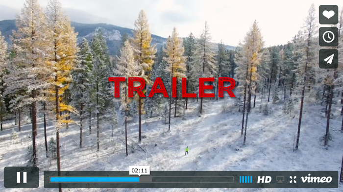 trail movie trailer graphic