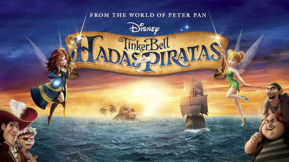 Tinkerbell Hadas y Piratas