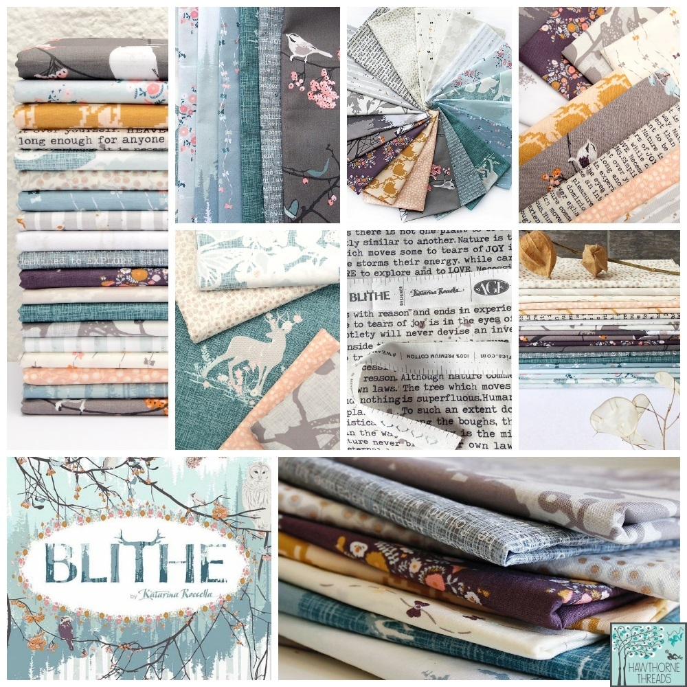 Blithe Fabric Poster