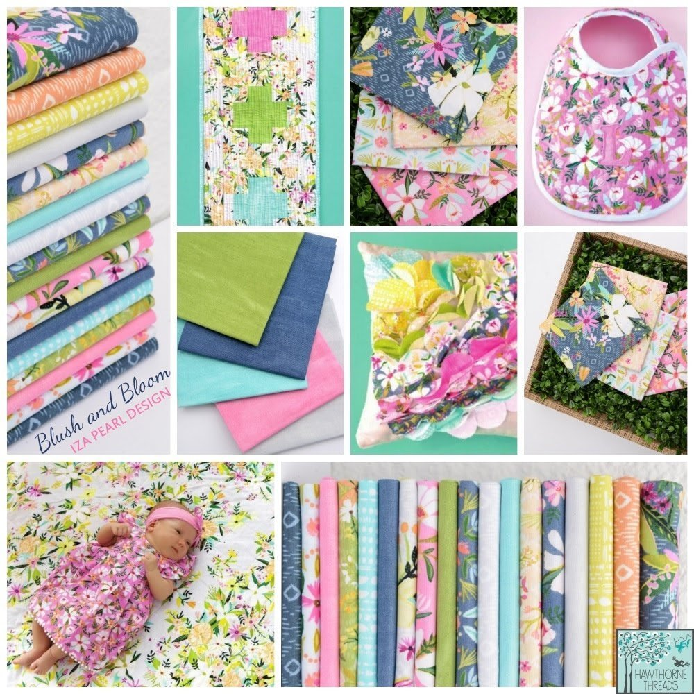 Blush and Bloom Fabric