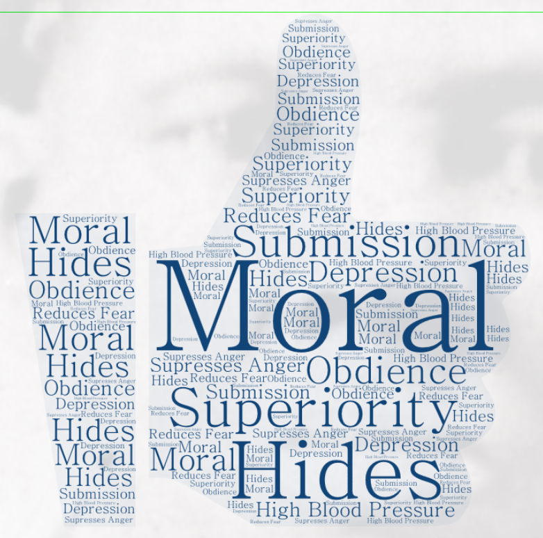 morality hides obedience
