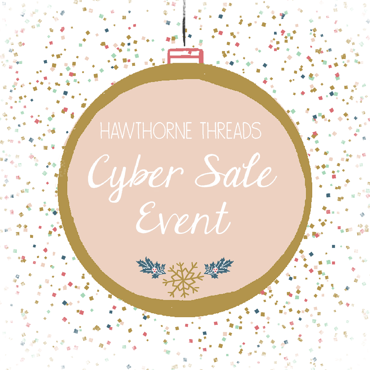 Cyber Sale 2016 2 with frosty border