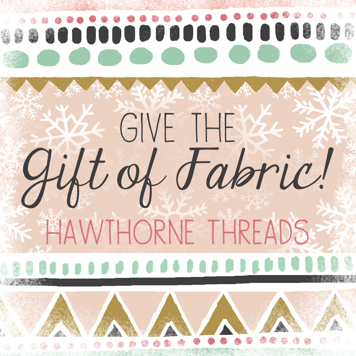 Hawthorne Threads Gift Certificate 2016 with frosty border