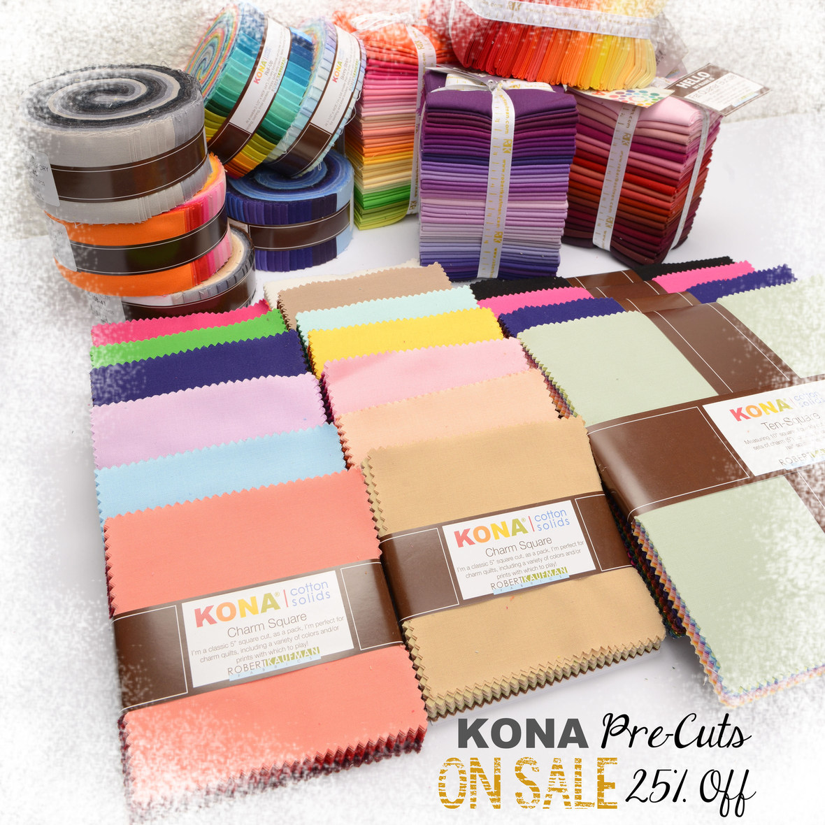 Kona Pre Cuts On Sale with frosty border