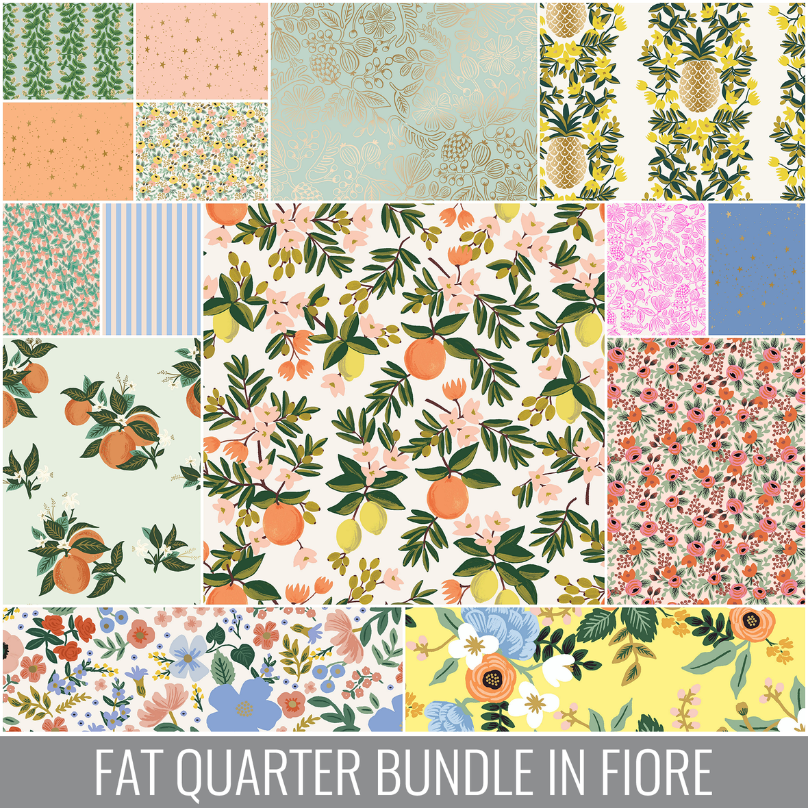 RIFLE PAPER CO PRIMAVERA FQ BUNDLE FIORE
