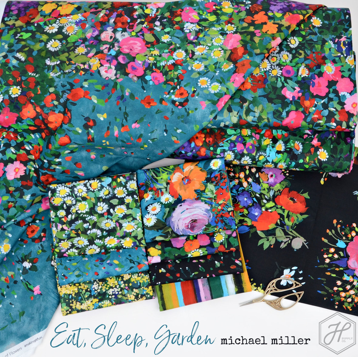 Eat-Sleep-Garden-Fabric-Poster