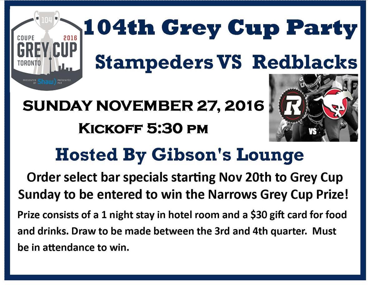 104 Grey Cup PosterRR