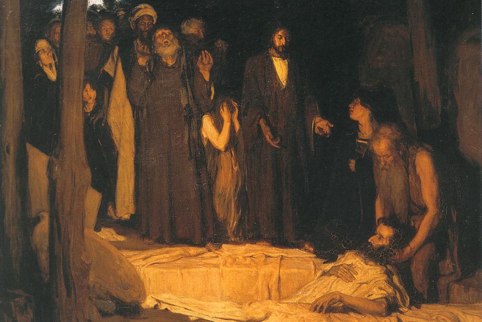 Lazarus Henry Ossawa Tanner Resurrection of Lazarus