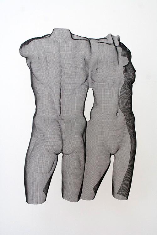 WONTU-double-sculpture-in-mesh-begbie